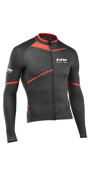 Northwave Blade Långärmad cykeltröja Herr röd/svart